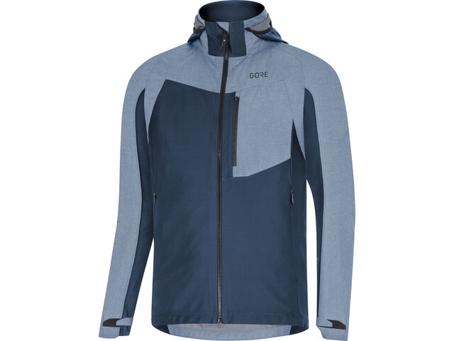 GORE WEAR C5 Gore-Tex Infinium Hybrid Hooded Jacket Men deep water blue